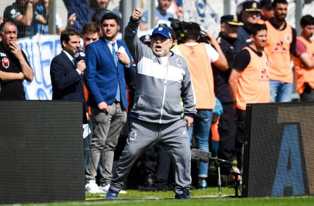 ARG: Gimnasia y Esgrima La Plata v Racing Club - Superliga 2019/20
