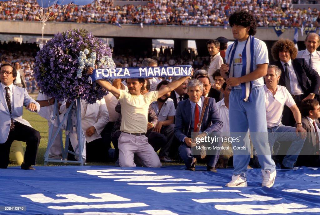 Diego Armando Maradona... : ニュース写真