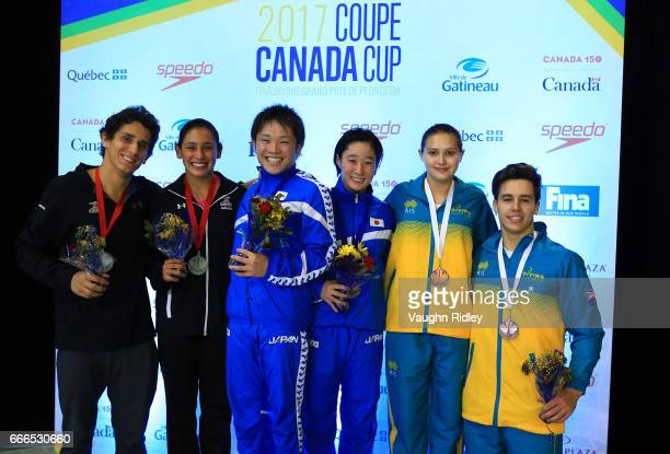 Diego Balleza and Gabriela Agundez of Mexico win Bronze Kazuki Murakami and Minami Itahashi of Japan win Gold and Melissa Wu and Declan Stacey of...