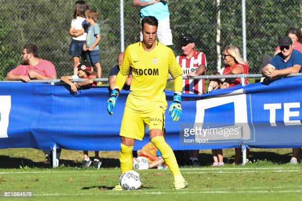 Diego Benaglio during the friendly match between As Monaco and PSV Eindhoven on July 16 2017 in Le Chable Switzerland