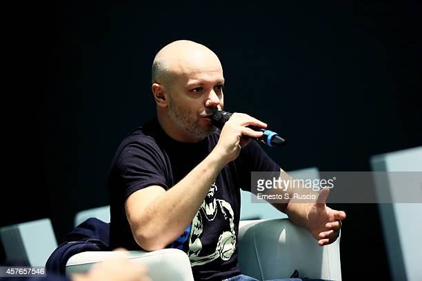 Diego Bianchi alias Zoro attends the Zoro Meets The Audience QA during the 9th Rome Film Festival on October 22 2014 in Rome Italy