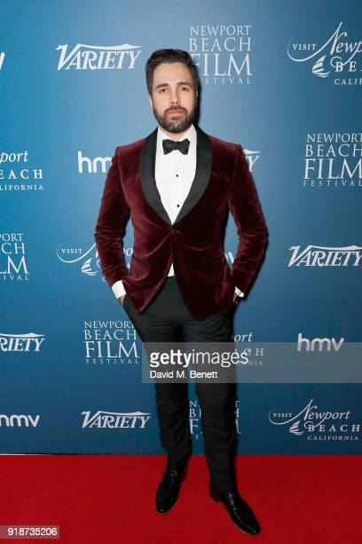 Diego Bivero Volpe attends the Newport Beach Film Festival UK Honours in association with Visit Newport Beach at The Rosewood Hotel on February 15...