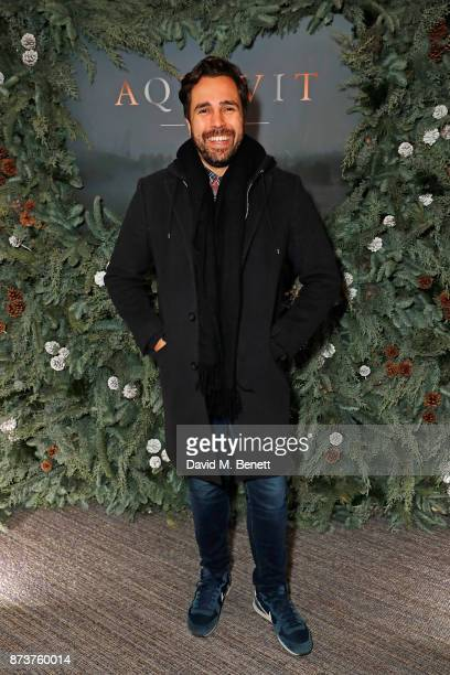 Diego BiveroVolpe attends the launch of The Nordic Winter Garden at Aquavit by McQueens on November 13 2017 in London England