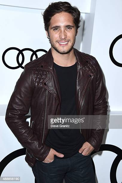 Diego Boneta arrives at the Audi Celebrates Emmys Week 2015 at Cecconi's on September 17 2015 in West Hollywood California