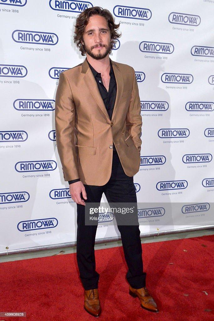 Diego Boneta attends Rimowa store opening on December 3, 2014 in Miami, Florida.
