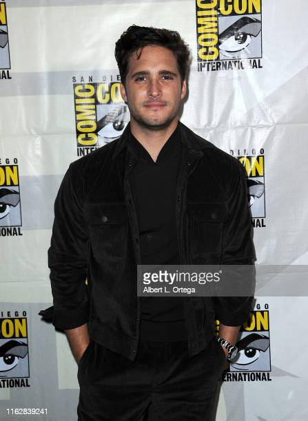 Diego Boneta attends the Terminator Dark Fate panel during 2019 ComicCon International at San Diego Convention Center on July 18 2019 in San Diego...