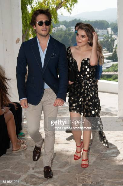 Diego Boneta attends the wedding of Guillermo Ochoa and Karla Mora on July 8 2017 in Ibiza Spain