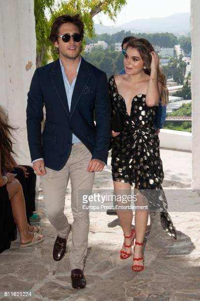 Diego Boneta attends the wedding of Guillermo Ochoa and Karla Mora on July 8, 2017 in Ibiza, Spain.