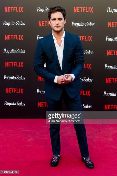 Diego Boneta attends World Premiere of Netflix's Paquita Salas Season 2 on June 28 2018 in Madrid Spain