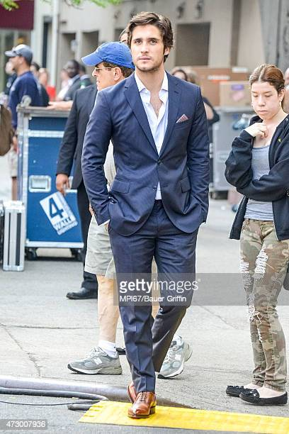 Diego Boneta spotted in New York City on May 11 2015 in New York City