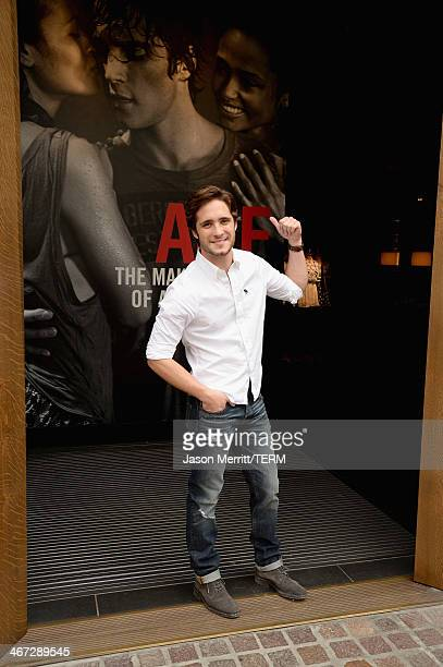 "Diego Boneta stops by the Abercrombie Fitch store at The Grove in Los Angeles to kick off the launch of their ""The Making of a Star"" spring campaign..."