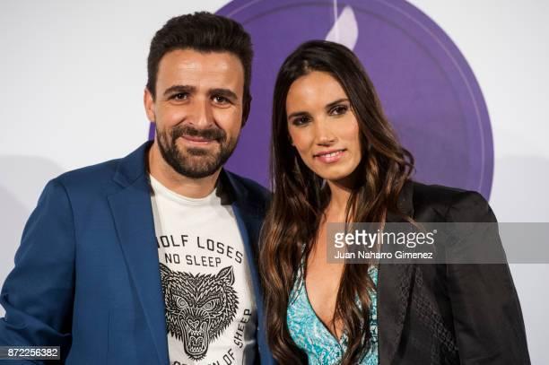Diego Cantero and India Martinez attend 'Mi Querida Cecilia' photocall at Palacio Municipal de Congresos on November 9 2017 in Madrid Spain