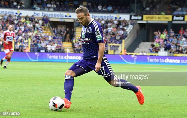 Diego Capel midfielder of RSC Anderlecht pictured during Jupiler Pro League second day competition match between RSC Anderlecht and KV Kortrijk on...