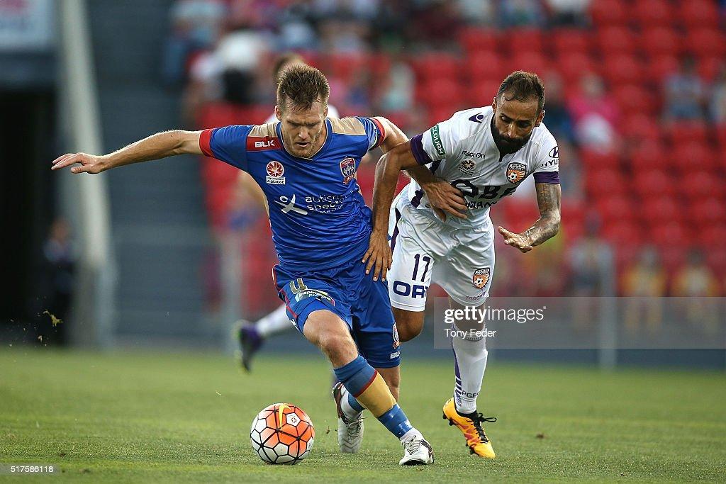 A-League Rd 25 - Newcastle v Perth