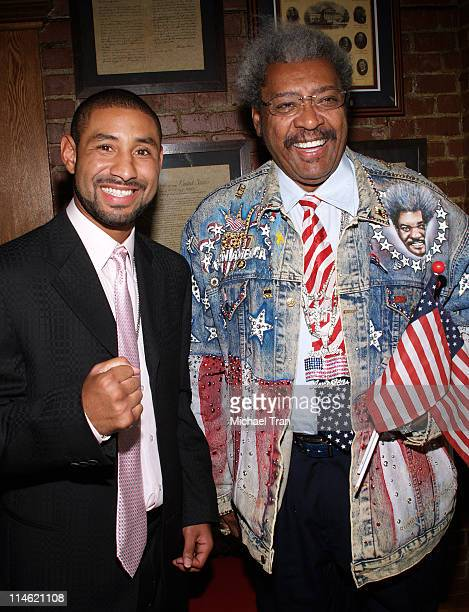 Diego Chico Corrales WBC Lightweight World Champion and Don King