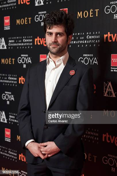 Diego Corral attends the Goya cinema awards candidates 2018 meeting at Casa de Correos on January 15 2018 in Madrid Spain