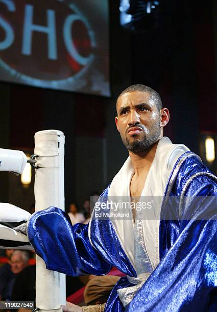 Diego Corrales enters the ring to face Joel Casamayor at Foxwoods Casino Corrales captured the Junior Lightweight title with a 12 round split...