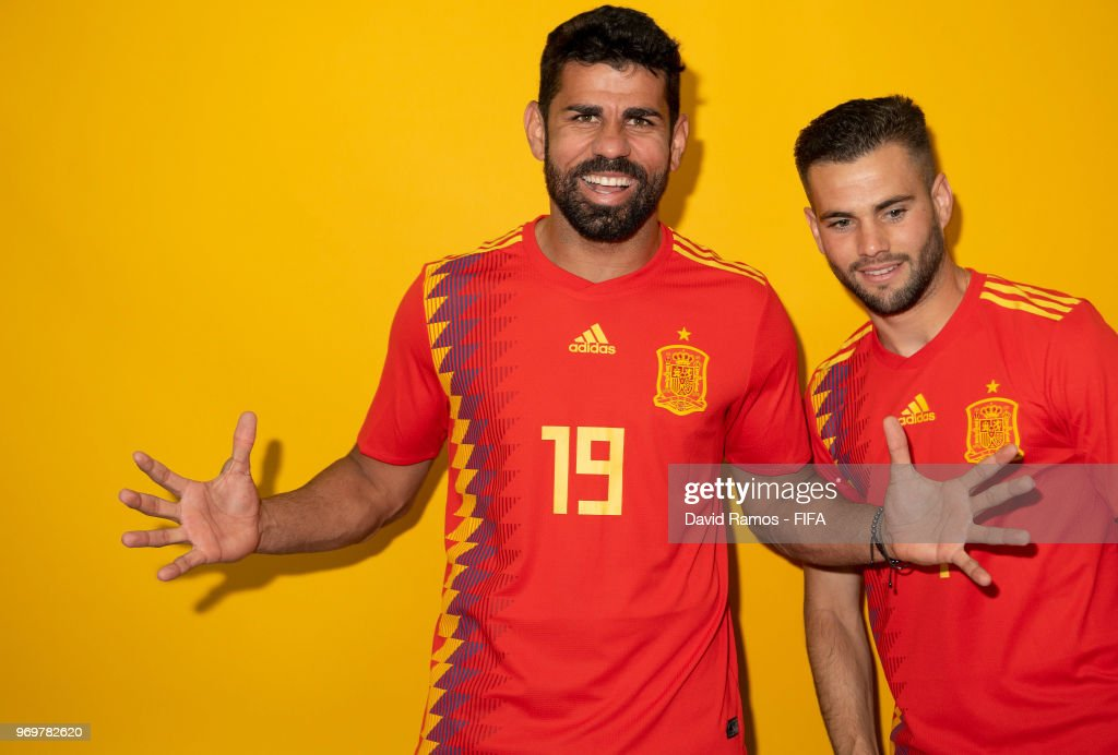Spain Portraits - 2018 FIFA World Cup Russia