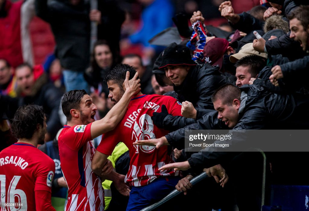 La Liga 2017-18 - Atletico de Madrid vs Getafe CF : News Photo