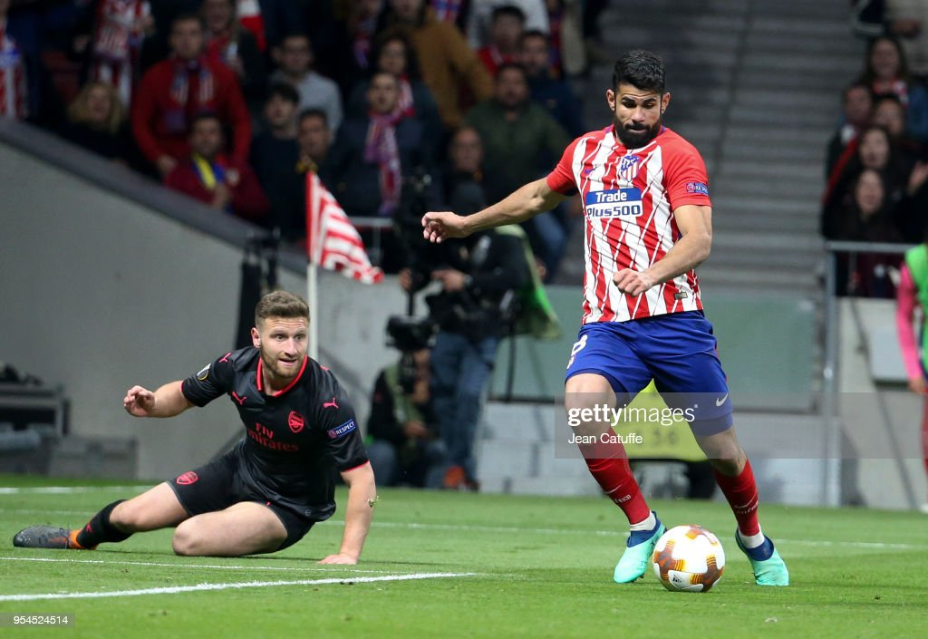 Atletico Madrid v Arsenal FC  - UEFA Europa League Semi Final Second Leg : News Photo