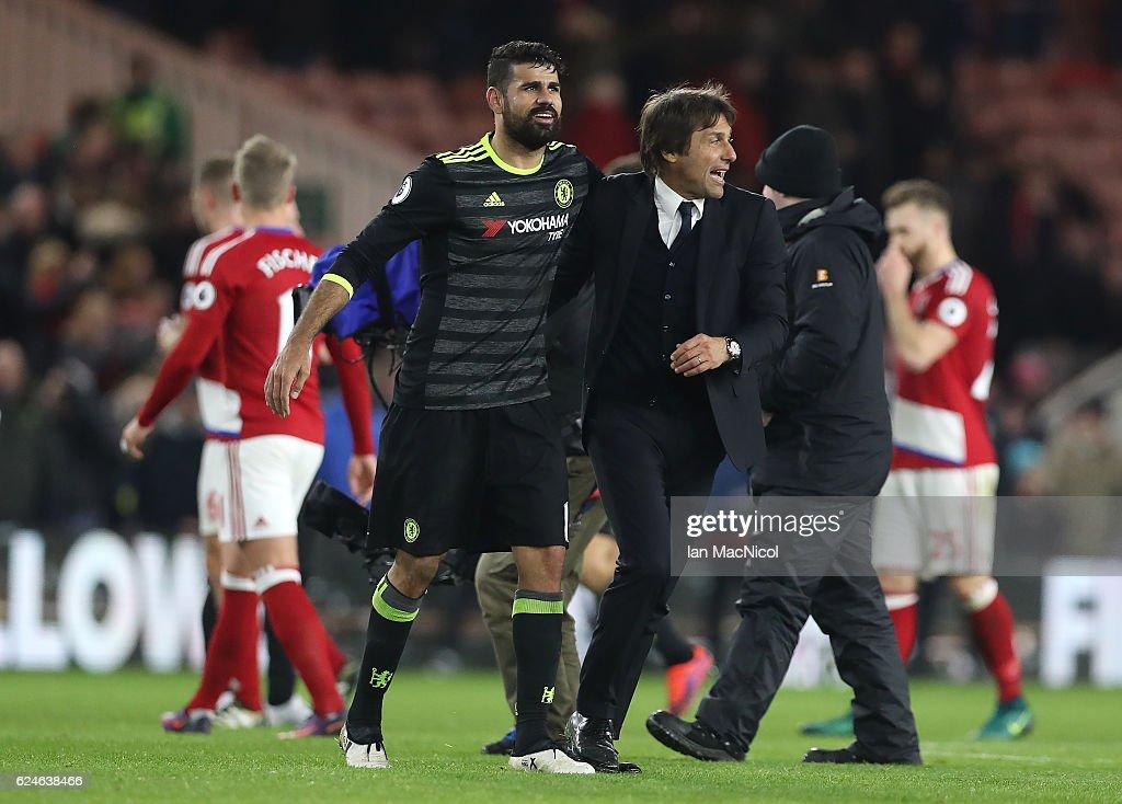 Middlesbrough v Chelsea - Premier League : Nachrichtenfoto
