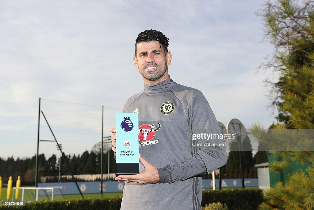 Chelsea Receive Monthly Premier League Awards : News Photo