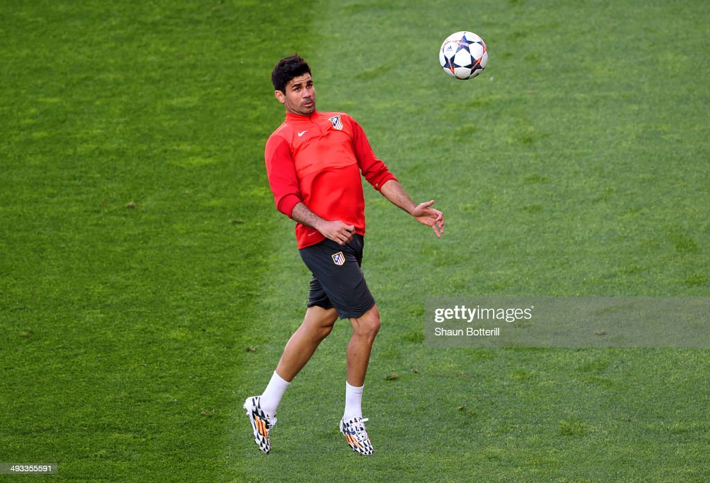 Club Atletico de Madrid Training - UEFA Champions League Final : News Photo