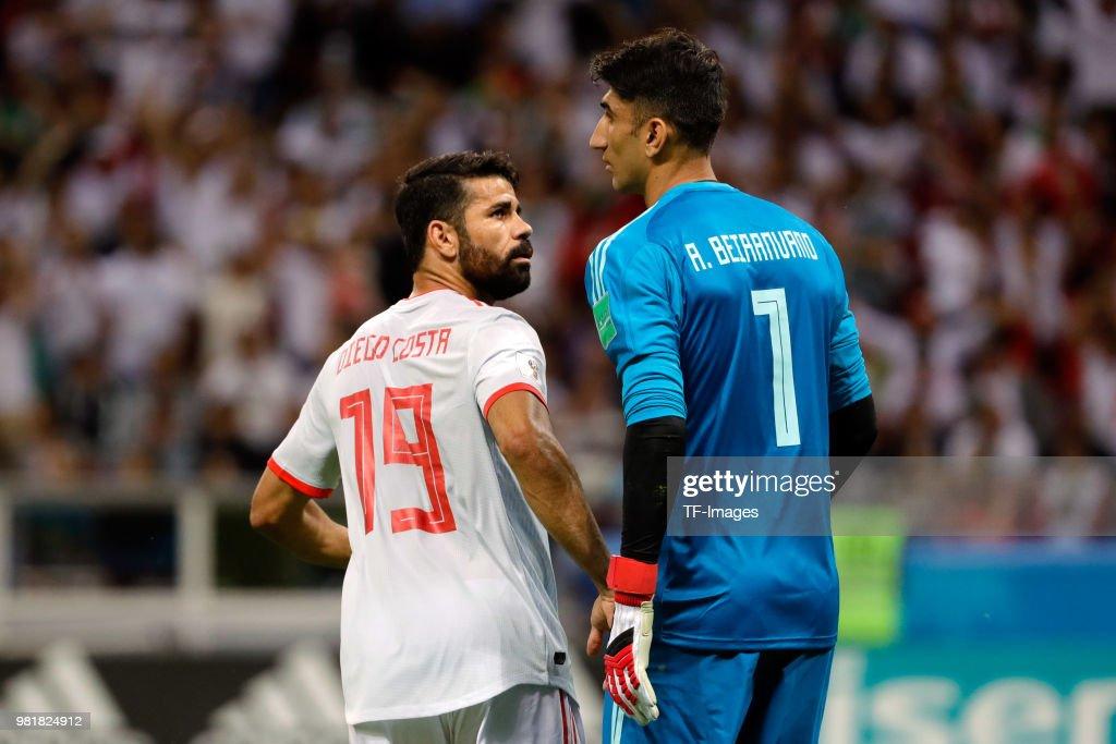Iran v Spain: Group B - 2018 FIFA World Cup Russia : News Photo