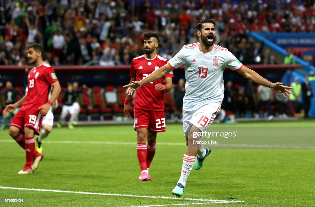 Spain 1 - 0 Iran - FIFA World Cup Russia 2018