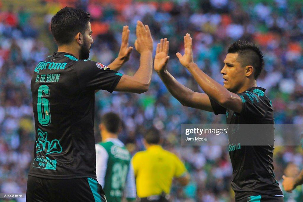 Leon v Santos Laguna - Torneo Apertura 2017 Liga MX