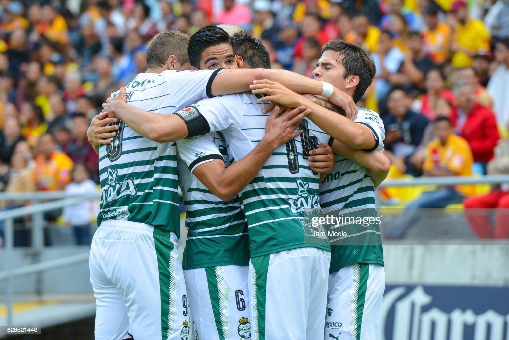 Morelia v Santos Laguna - Torneo Apertura 2017 Liga MX