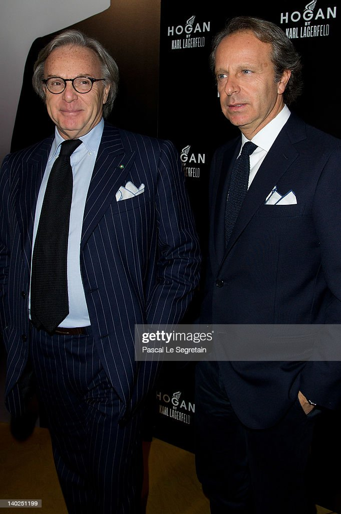 size 40 6368b f0ee6 Diego della Valle and Andrea della Valle attend the Hogan by ...