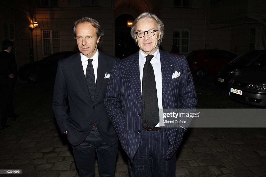 newest 6b1ea be1aa Diego della Valle and Andrea Della Valle attend the Hogan by ...