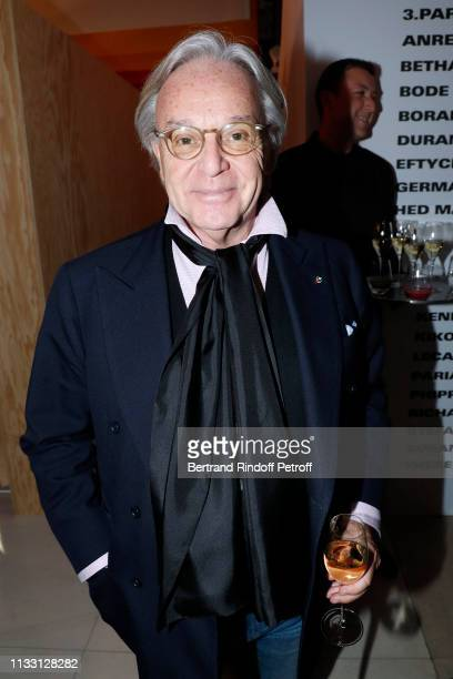 Diego Della Valle attends the LVMH Prize 2019 Edition at Louis Vuitton Avenue Montaigne Store on March 01 2019 in Paris France