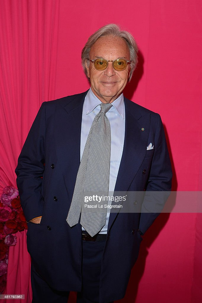 Diego Della Valle attends the Schiaparelli show as part of Paris Fashion Week - Haute Couture Fall/Winter 2014-2015 on July 7, 2014 in Paris, France.