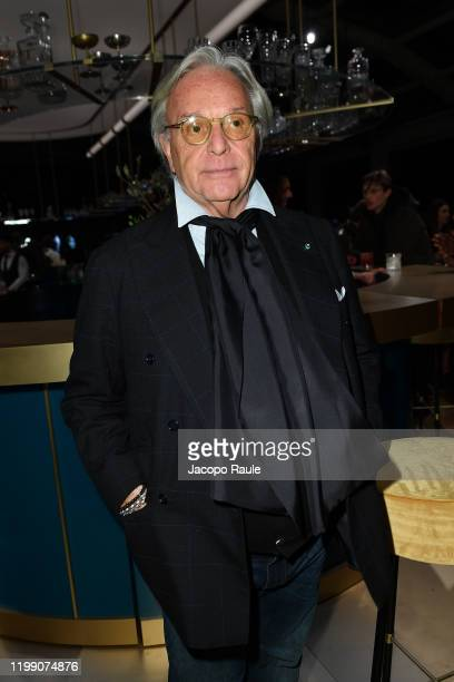 Diego Della Valle attends the Tod's presentation during the Milan Men's Fashion Week on January 12, 2020 in Milan, Italy.