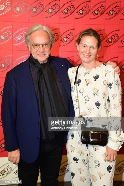 Diego Della Valle attends Tod's X Alber Elbaz Happy Moments at Yoyo Palais De Tokyo on July 02, 2019 in Paris, France.