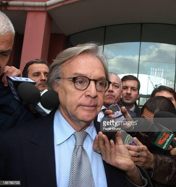 Diego Della Valle President of Fiorentina Calcio attends a Tavolo Della Pace Meeting on December 14 2011 in Rome Italy
