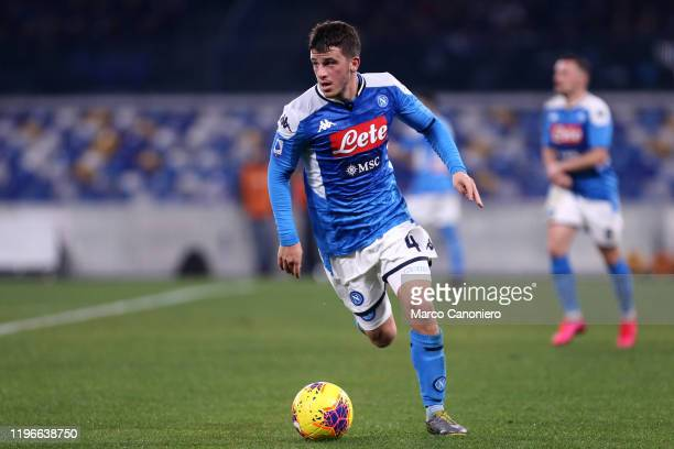 Diego Demme of Ssc Napoli in action during the Serie A match between Ssc Napoli and Juventus Fc. Ssc Napoli wins 2-1 over Juventus Fc.