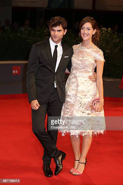 Diego Dominguez and Maria Clara Alonso attend a premiere for 'El Clan' during the 72nd Venice Film Festival at on September 6 2015 in Venice Italy