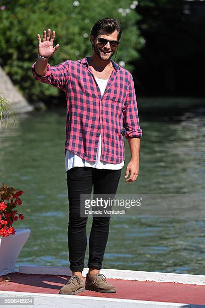Diego Dominguez arrives at Lido during the 73rd Venice Film Festival on September 6 2016 in Venice Italy