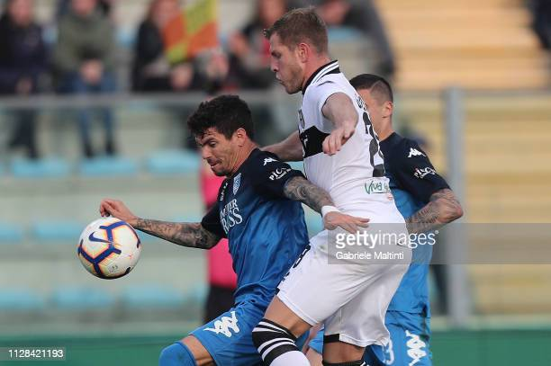 Diego Farias of Empoli FC in action during the Serie A match between Empoli and Parma Calcio at Stadio Carlo Castellani on March 2 2019 in Empoli...