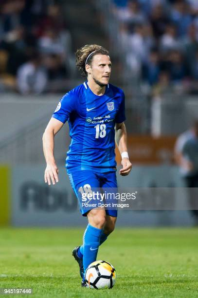 Diego Forlan Corazo of Kitchee SC in action during the AFC Champions League 2018 Group E match between Kitchee SC vs Tianjin Quanjian FC at Mongkok...