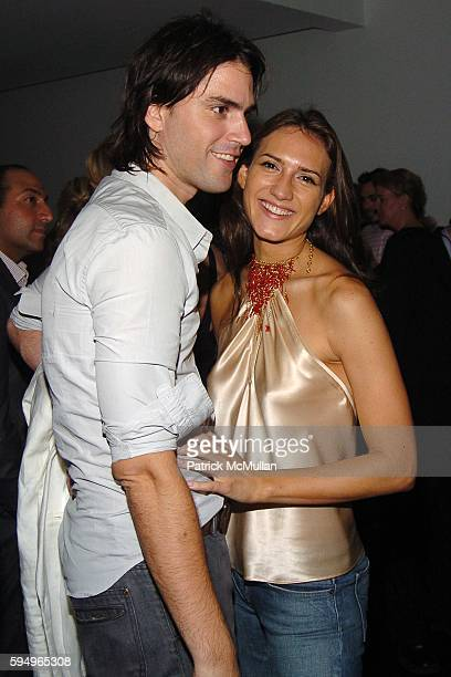 Diego Garcia and Zani Gugelmann attend Afterparty for DIOR THE CINEMA SOCIETY's screening of Hart Sharp Entertainment Miramax Films' Proof at 165...