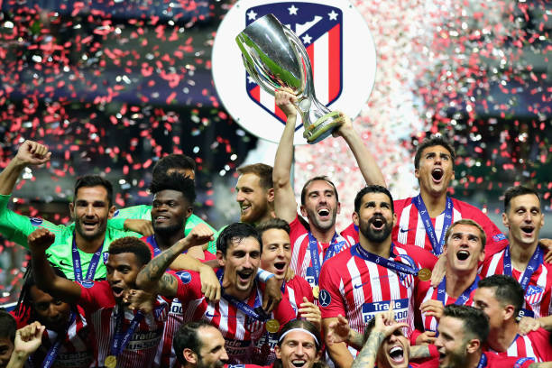 EST: Real Madrid v Atletico Madrid - UEFA Super Cup