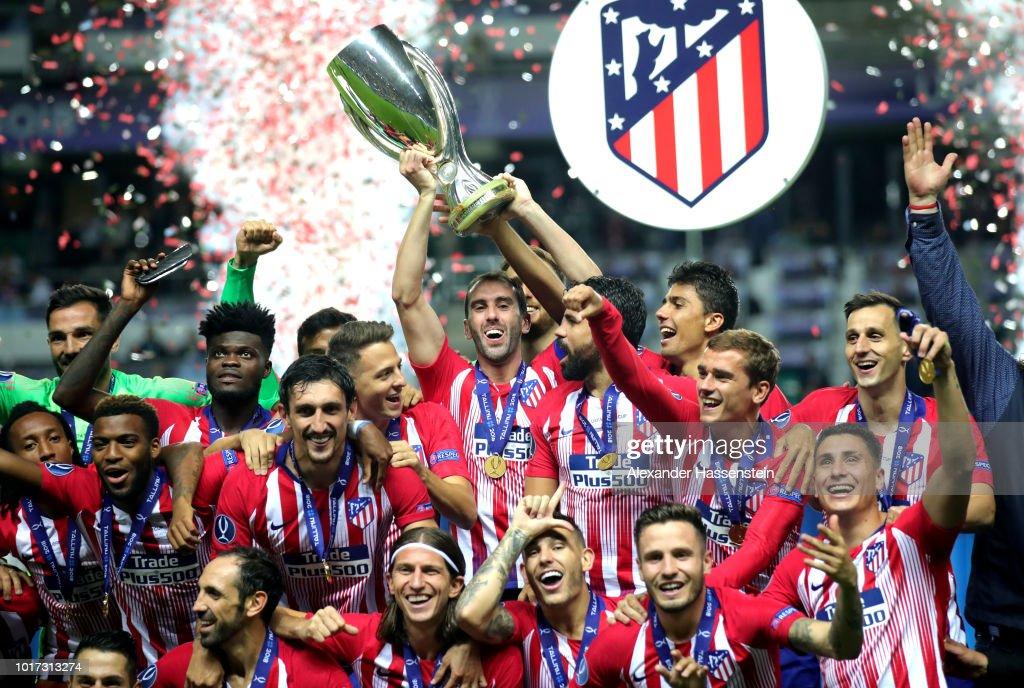 Real Madrid v Atletico Madrid - UEFA Super Cup : Fotografía de noticias