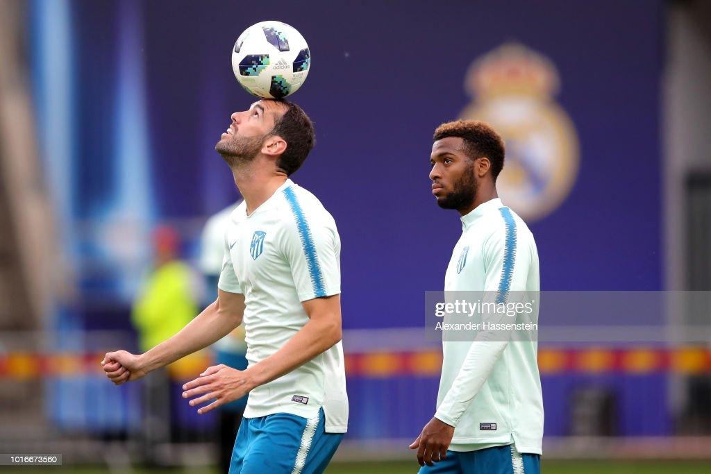 EST: Real Madrid v Atletico Madrid - UEFA Super Cup Previews