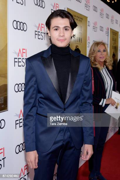 Diego Josef attends the screening of 'The Ballad Of Lefty Brown' at AFI FEST 2017 Presented By Audi at the Egyptian Theatre on November 14 2017 in...