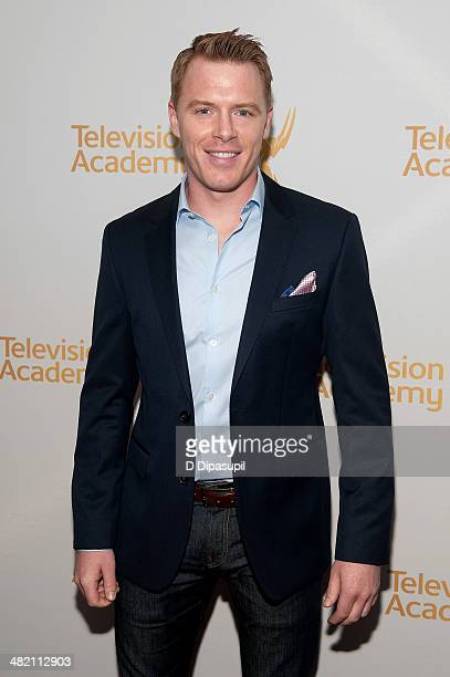 Diego Klattenhoff attends an evening with The Blacklist at Florence Gould Hall on April 2 2014 in New York City