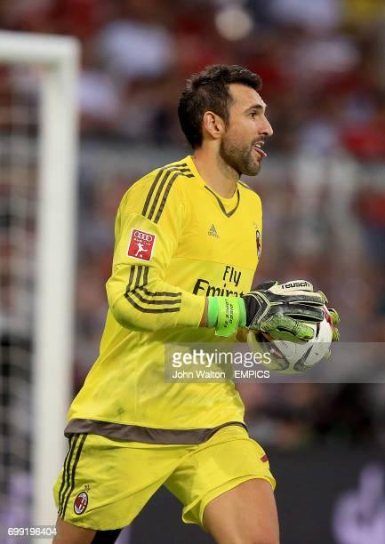 Diego Lopez AC Milan goalkeeper